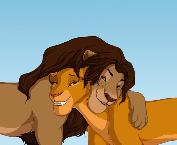lion king simba nala. The Lion King