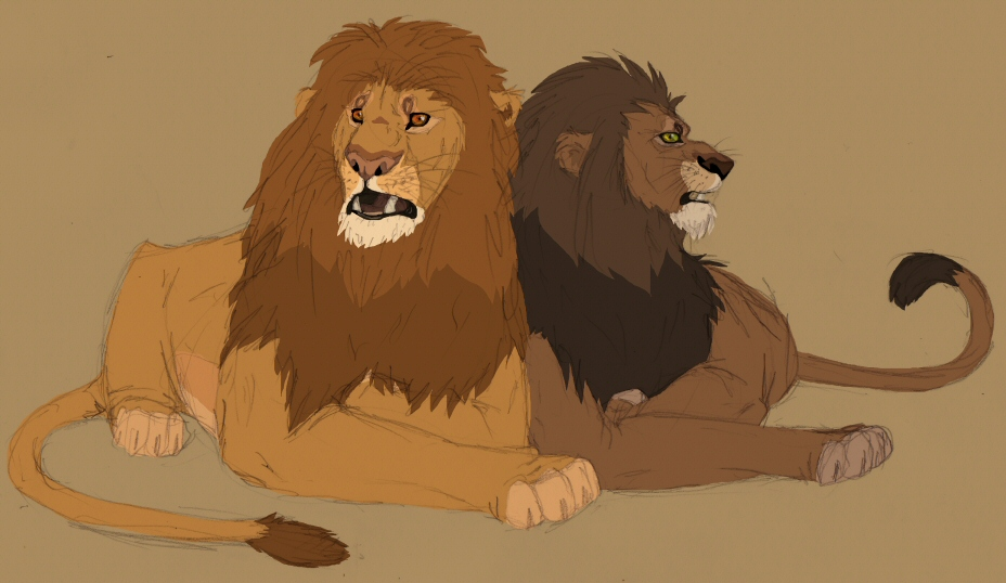 lion king simba vs scar. Simba would be kicked out once