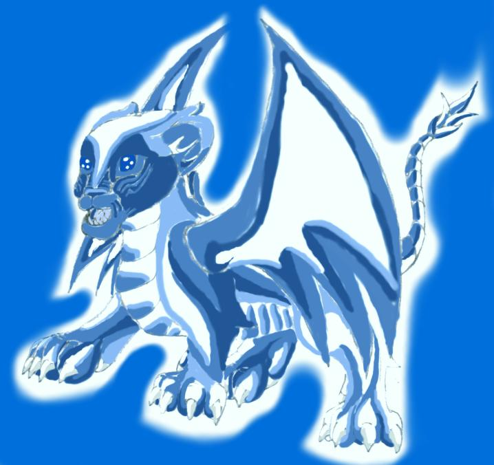blue eyes white dragon. Blue eyes white Dragon!