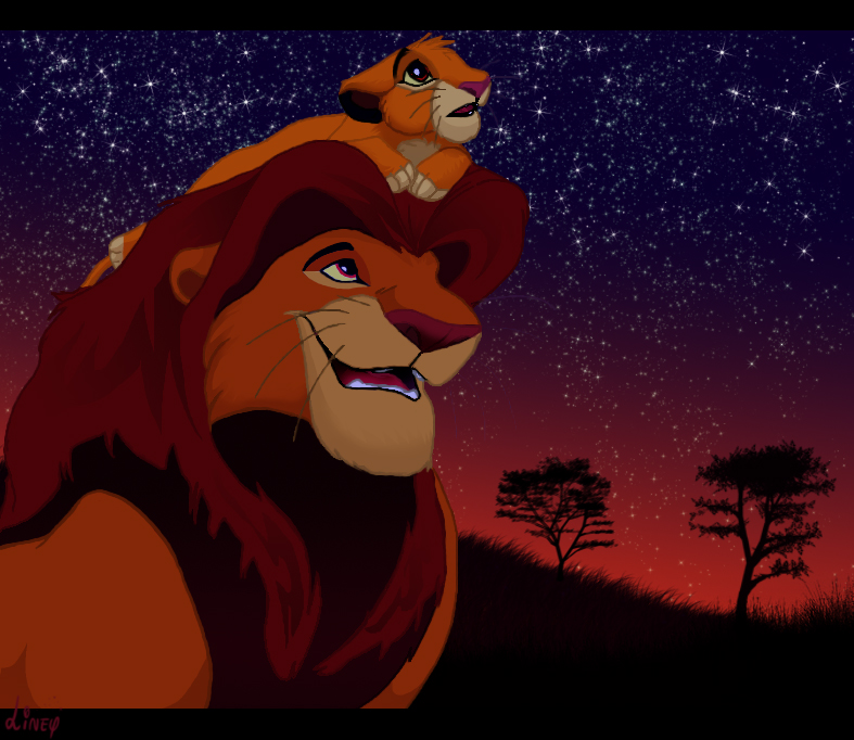 Click and visit my Fanart Lionking gallery!