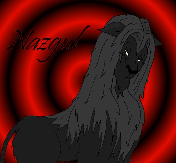It is a Nazgul lion from LOTR