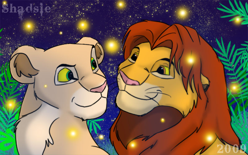 lion king simba nala. Simba and Nala ^^ And some