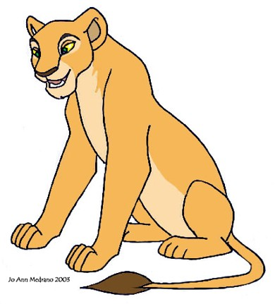 Personality ... MBTI Enneagram Nala (The Lion King, Disney) ... loading picture