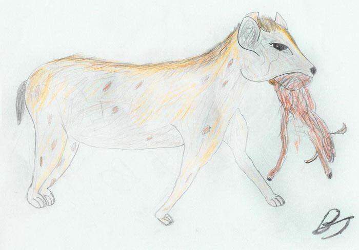 lion king scar hyenas. hyena. Color JPEG. 700x488